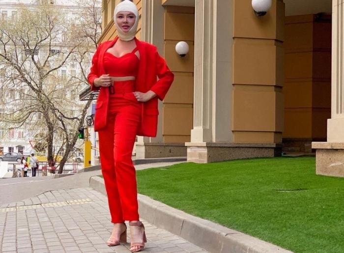 Дарья Пынзарь была вынуждена похудеть после пластики