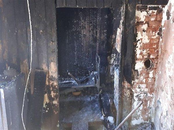 В Ростовской области произошел пожар в цехе по переработке пуха и пера
