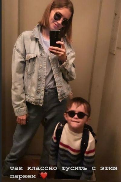 Дарья Мельникова перестала скрывать лицо 3-летнего сына