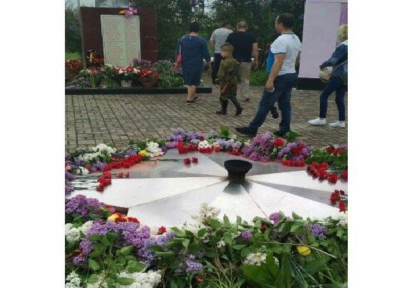 9 мая в Белой Калитве потух вечный огонь