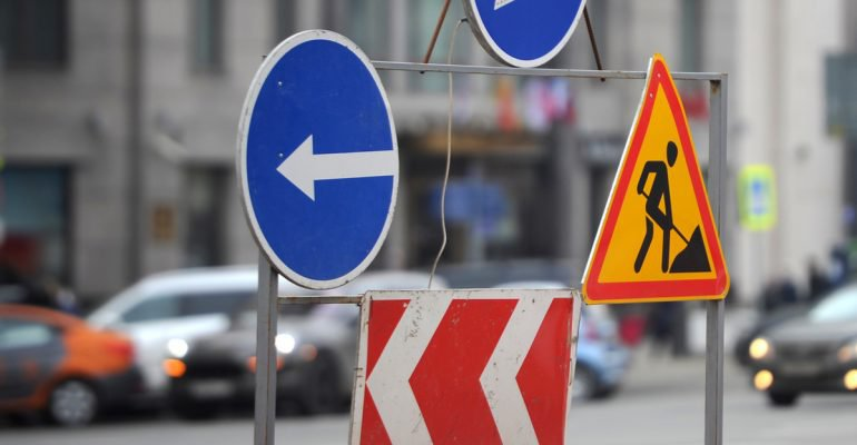 В Ростове на улице Нансена ограничение проезда продлится до 16 июня