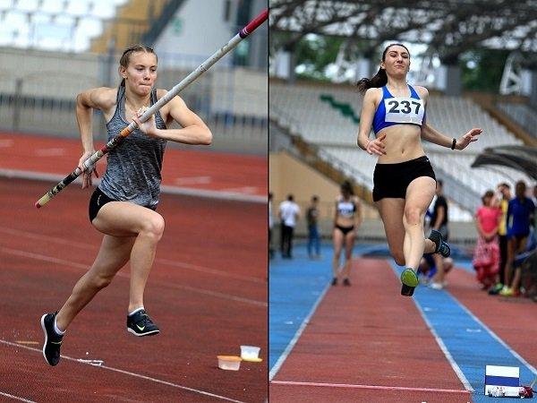 На всероссийских соревнованиях по легкой атлетике лучшими стали спортсменки из Ростова