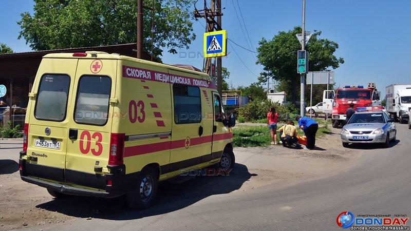 В Новочеркасске иномарка сбила 8-летнего мальчика на «зебре»