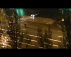 Самарцы сняли на видео ночные выходки неадекватной троицы на Московском шоссе