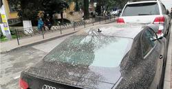 «Такого мы еще не видели»: В Самарской области прошел «цементный» дождь