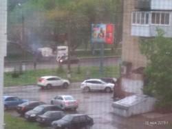 И в град, и в ветер: минувший шторм не остановил трудолюбивых дорожников Новокуйбышевска