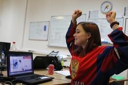 Леди из Новокуйбышевска не выяснили, кто из игроков ЧМ-2019 по хоккею им нравится больше