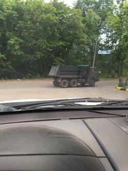 «Грязь смыли позже»: в Самаре вычислили КАМАЗ-загрязнитель лесопарка Дубки
