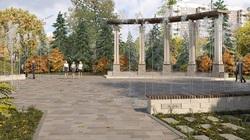 Петергоф у здания суда: Крымскую площадь в Самаре планируют украсить сухими фонтанами