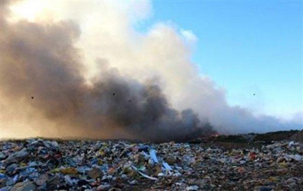 В Ростовской области участились случаи возгорания мусорных полигонов
