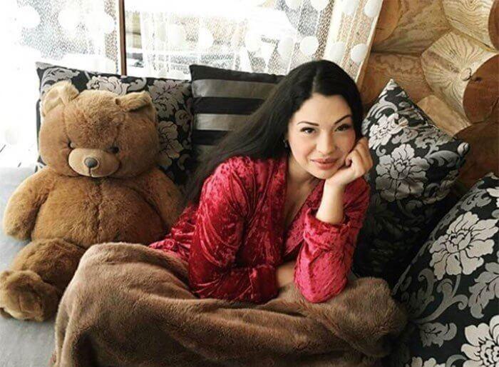 Инна Воловичева обустраивает семейное гнездышко