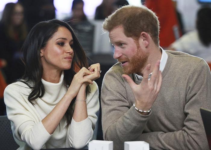 Меган Маркл едва не расплакалась из-за строгих замечаний принца Гарри