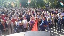 Марш против мусорной реформы в Самаре сорвался из-за нанесения разметки